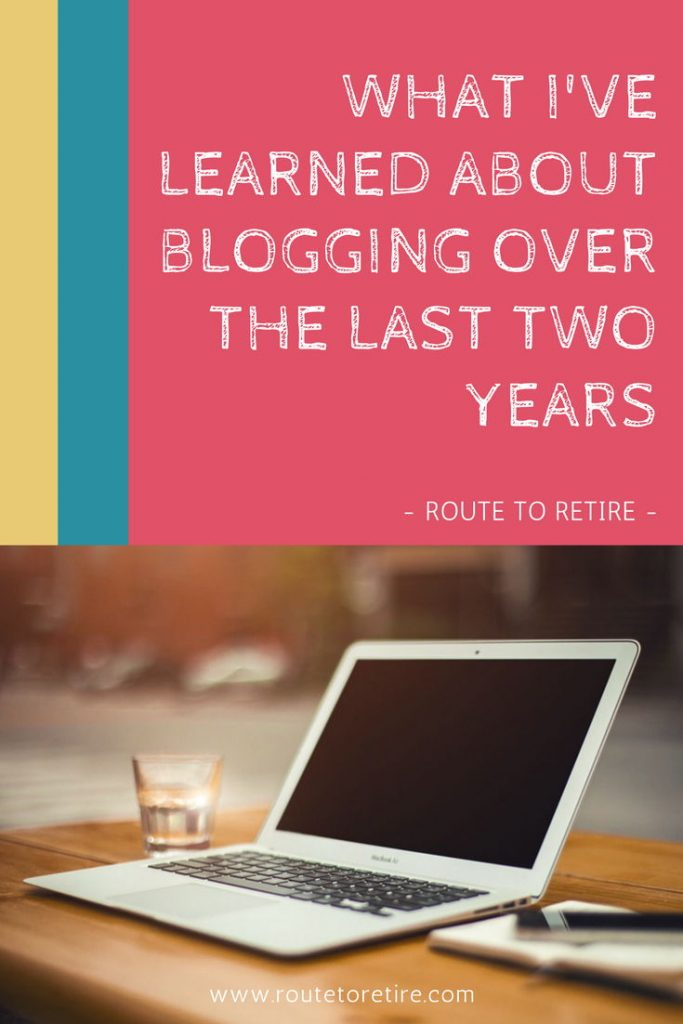 What I've Learned About Blogging Over the Last Two Years