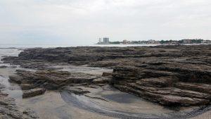 Panama Vacation - Part 1 - Nueva Gorgona and Anton Valley - Rocky area of the beach...