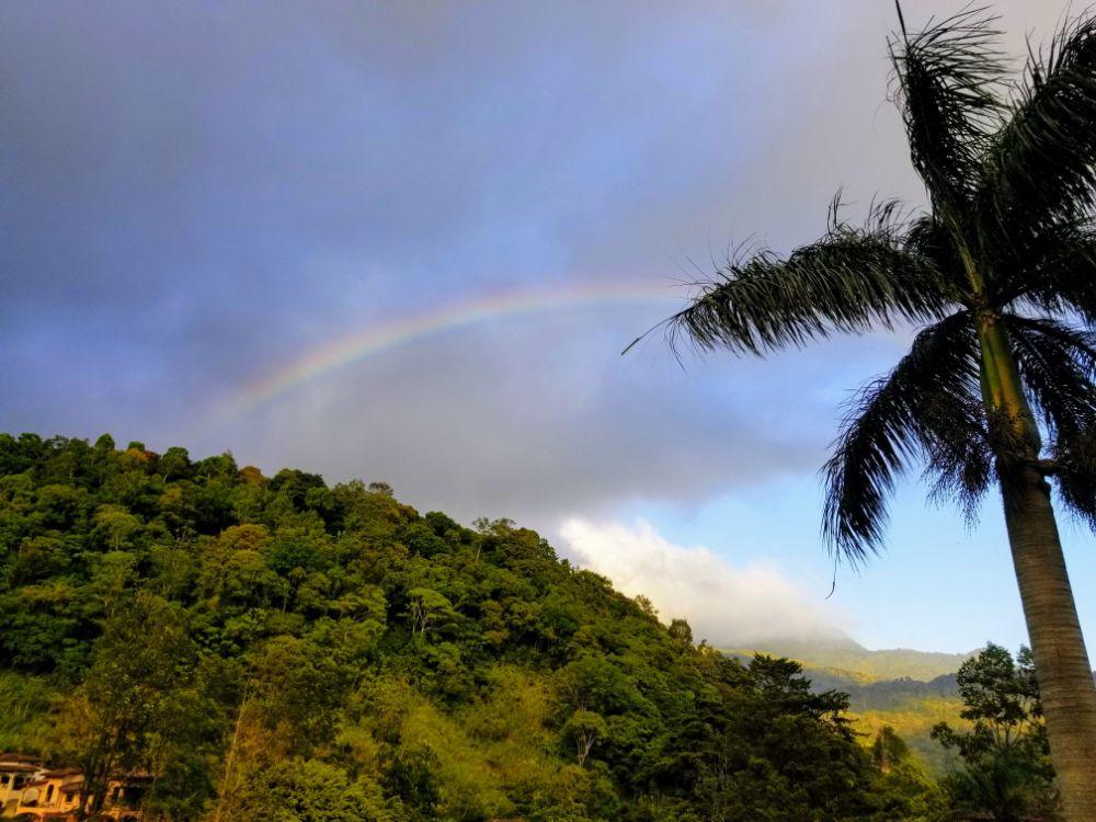 Boquete, Panama in Photos - Rainbow
