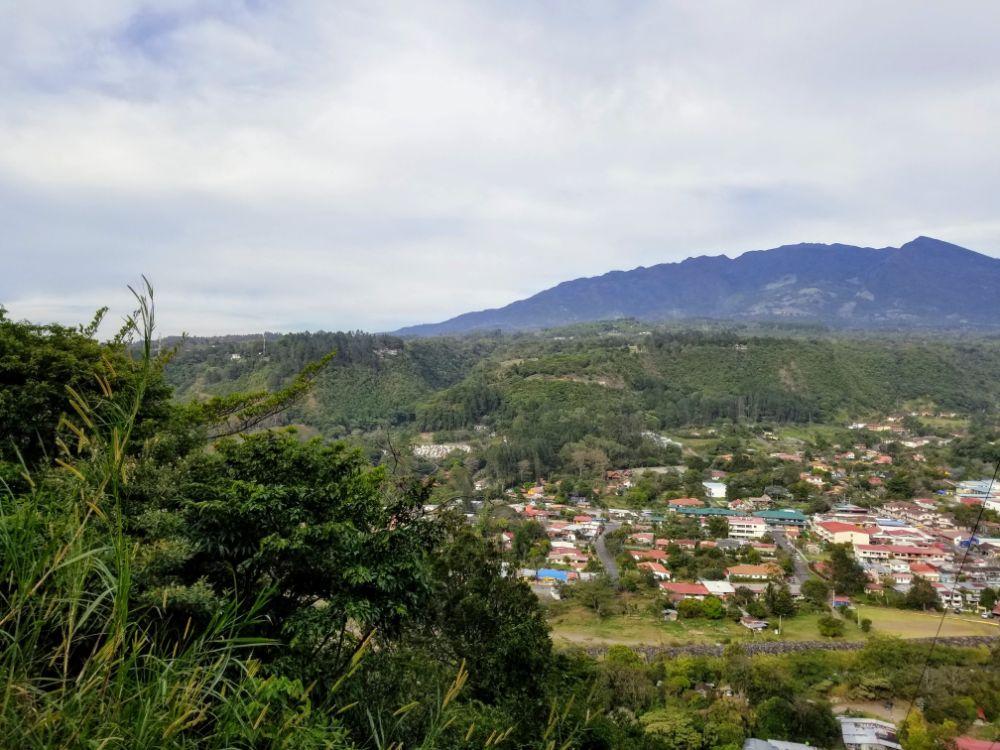 Boquete, Panama in Photos - Boquete overlook