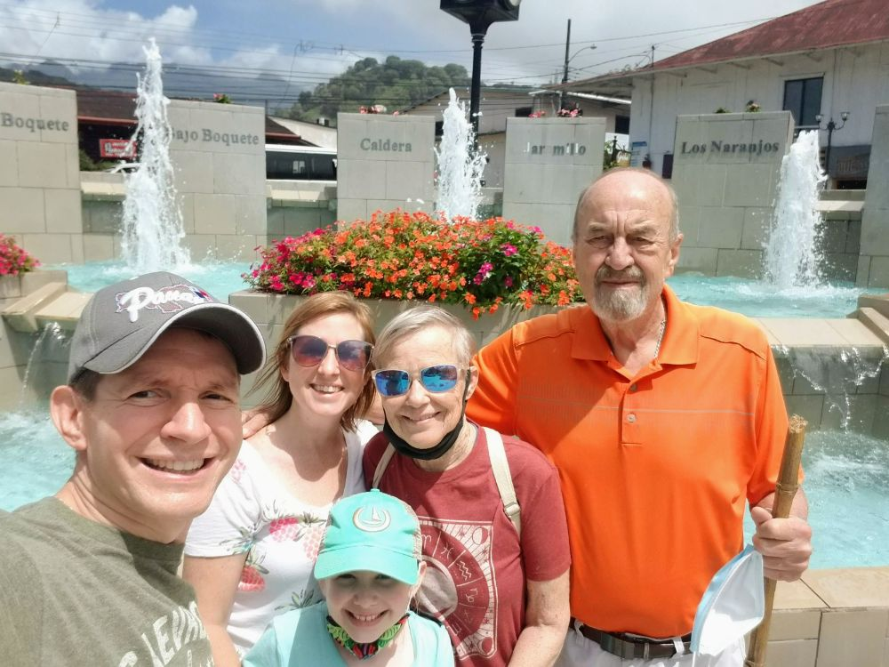 Giving the In-Laws the Grand Tour of Boquete, Panama!