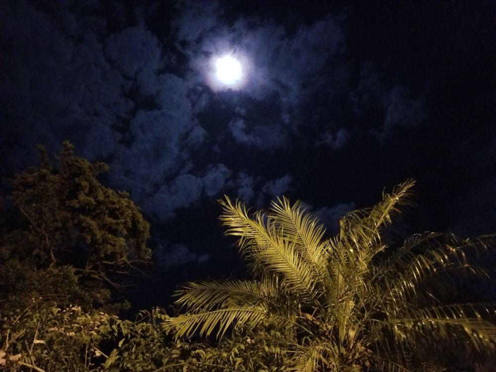 The Moon over Valle Escondido