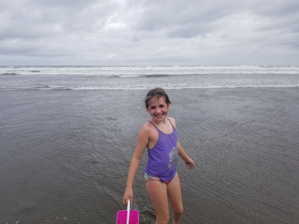 The Beach, a Sloth, and Monkey Lalas... - Las Lajas Beach
