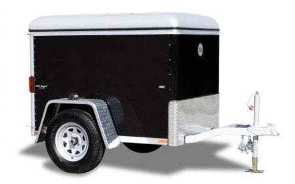 Designing Our New Life – The Power of Early Retirement - A 4x6 enclosed trailer might be just what we need!