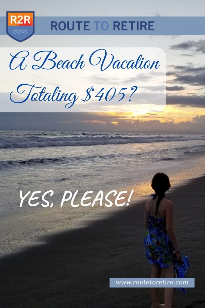 A Beach Vacation Totaling $405? Yes, Please!