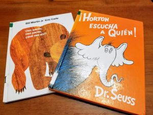 Brown Bear and Horton Hears a Who Books