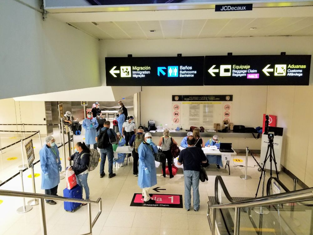 Our Trip to Panama – What to Expect As Borders Reopen - COVID test results check