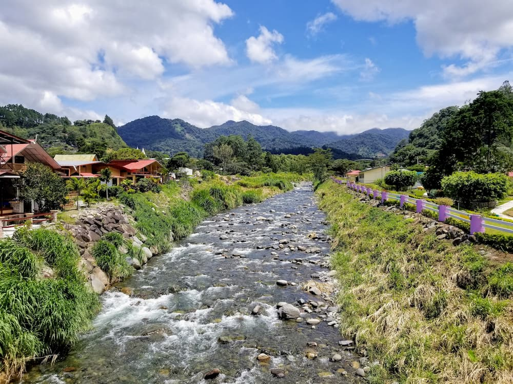 The Financial Impact of Moving Back to the U.S. - The Caldera River in Boquete, Panama