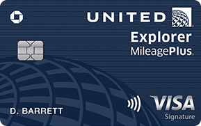 Chase United MileagePlus Explorer Card