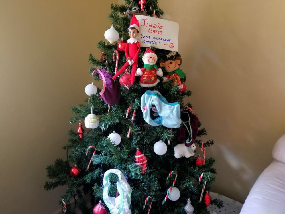 A Christmas Story in Panama… Back in Lockdown! - Elf the G - Underwear Smells