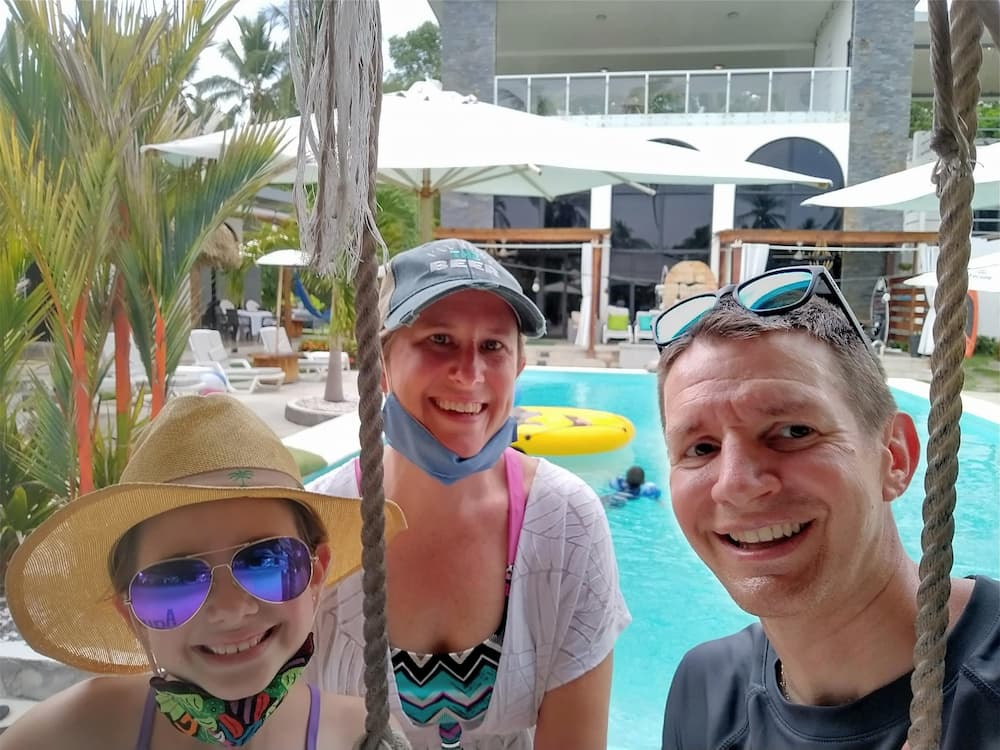 Finding Happiness Once You Leave the Rat Race - Faith, Lisa, and Jim at the Show Pony Beach Resort