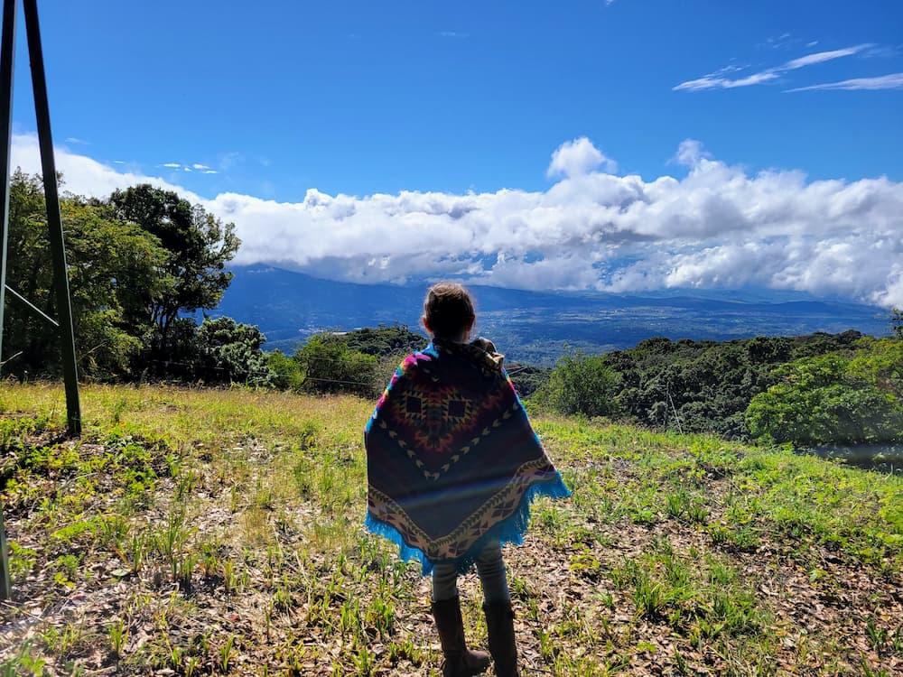Faith overlooking Boquete
