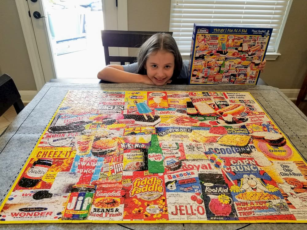 Three Weeks in Texas – A Big Stop on the Road Trip - Faith and a Completed Puzzle