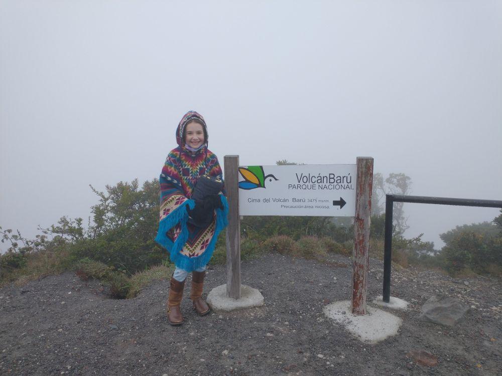 Faith - Volcán Barú, an active volcano