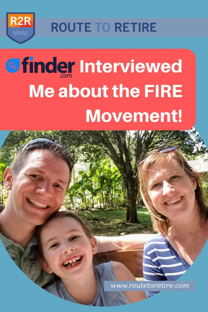 Finder Interviewed Me about the FIRE Movement!