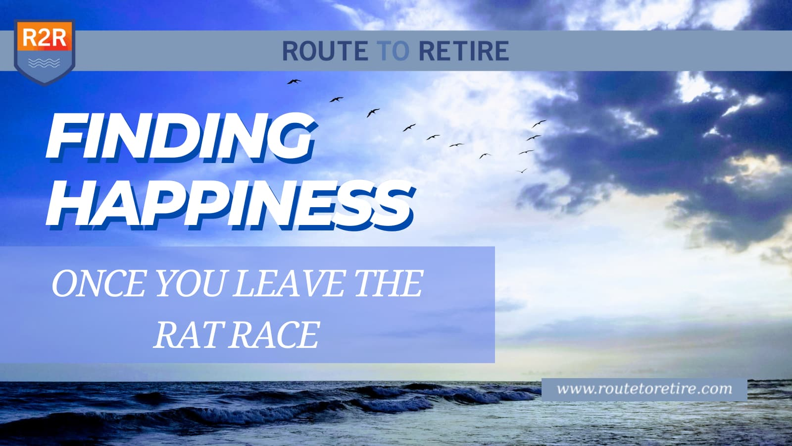 Finding Happiness Once You Leave the Rat Race