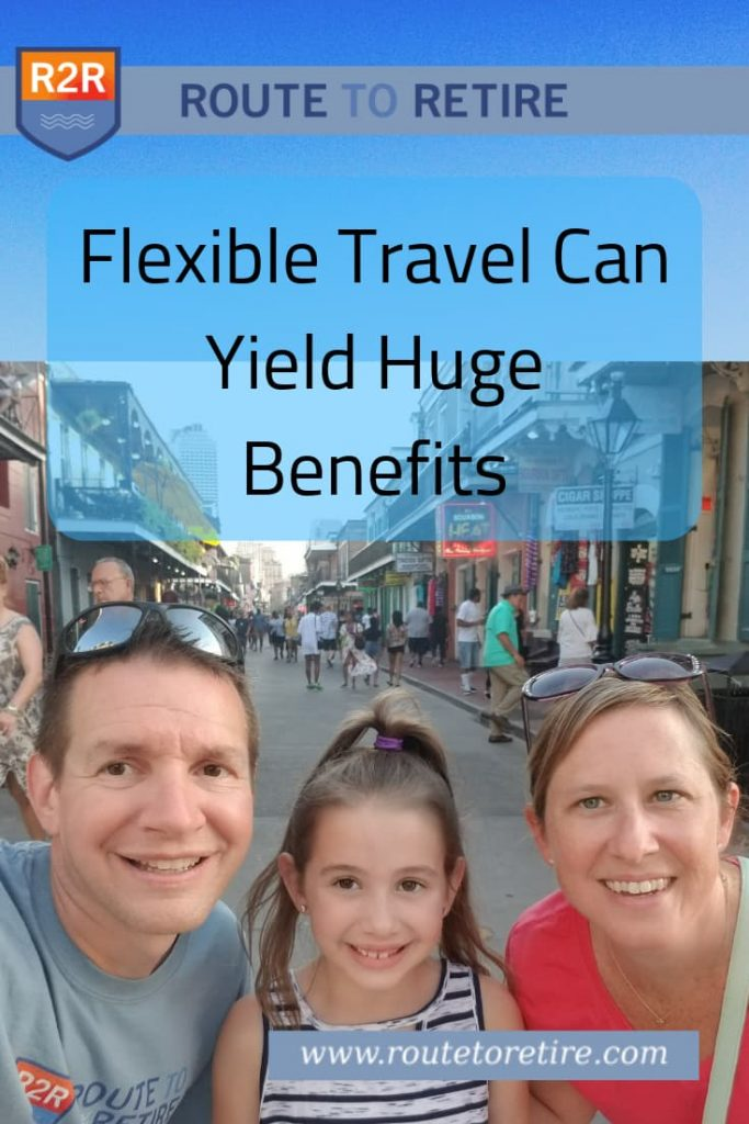 Flexible Travel Can Yield Huge Benefits
