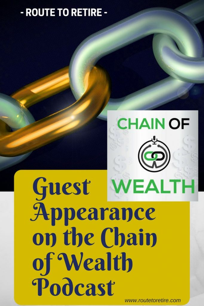 Guest Appearance on the Chain of Wealth Podcast