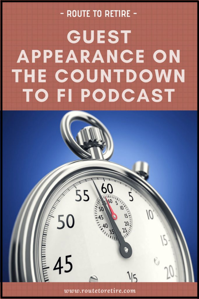 Guest Appearance on the Countdown to FI Podcast