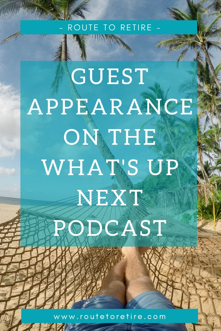 Guest Appearance on the What's Up Next Podcast