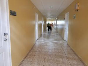 My Test Run of Medical Service in Panama Went Awry - Hallway at Hospital Chiriquí