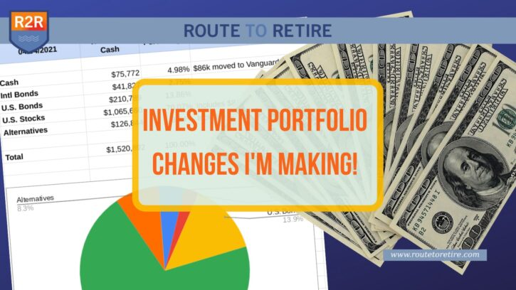 Investment Portfolio Changes I'm Making!