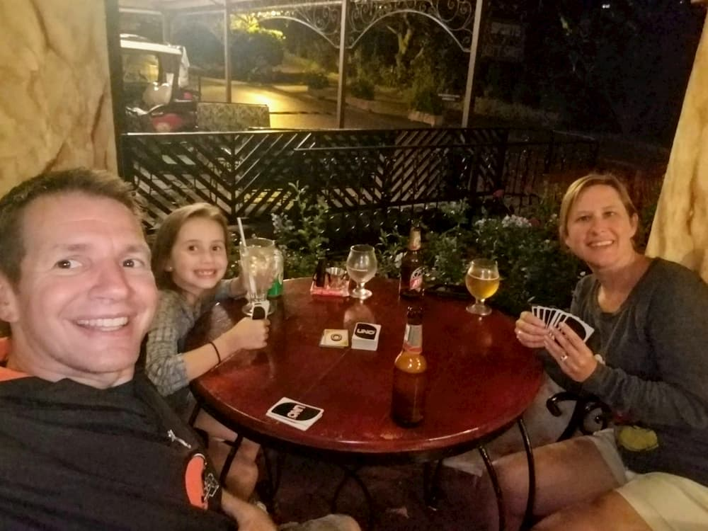 5 Things I Wish We Were Doing Again in Panama - Playing Cards at the Cantina