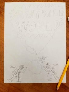 Random Thoughts in These Unusual Times - Meatball World Comic Book