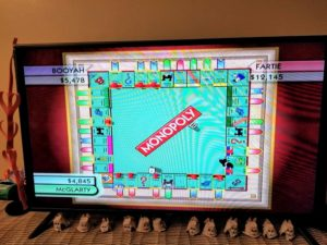 Monopoly on the Wii