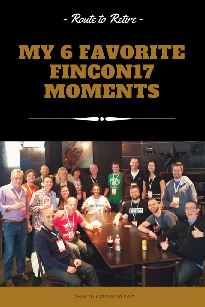 My 6 Favorite FinCon17 Moments