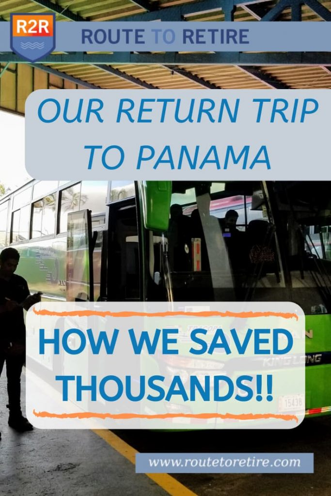 Our Return Trip to Panama - How We Saved Thousands