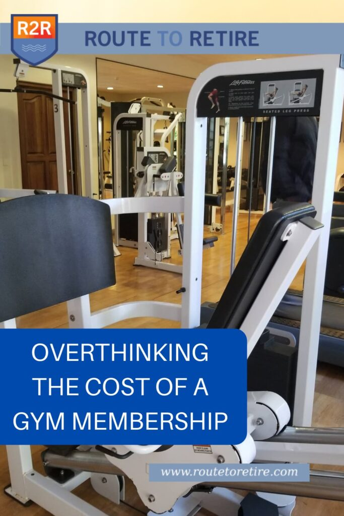 Overthinking the Cost of a Gym Membership