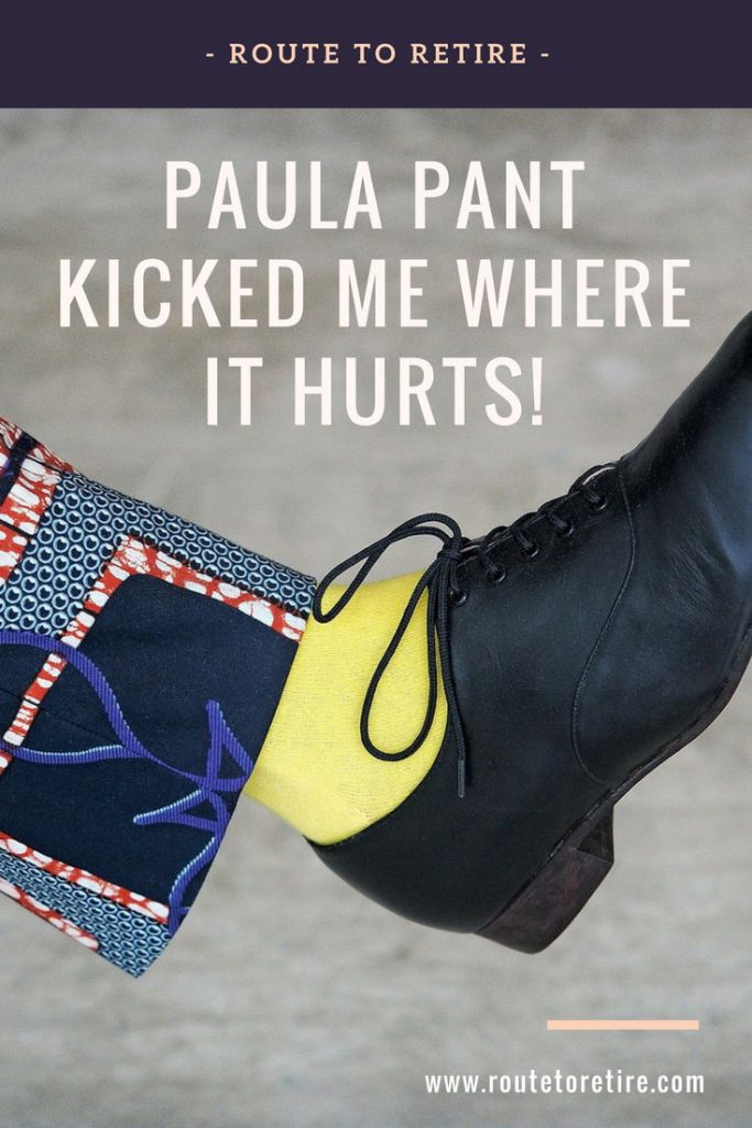 Paula Pant Kicked Me Where It Hurts!