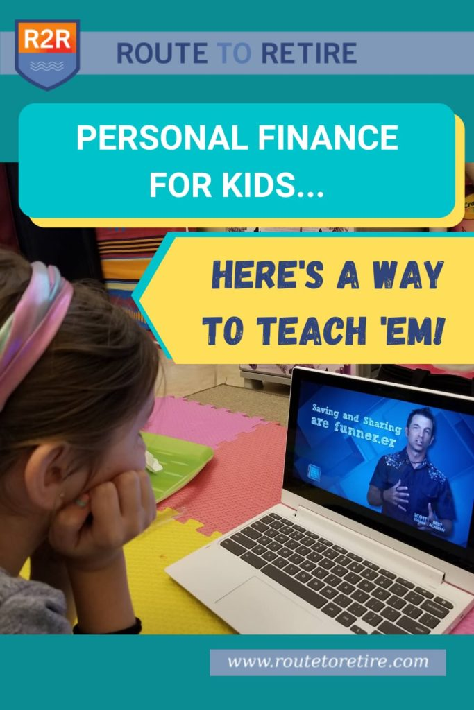 Personal Finance for Kids... Here's a Way to Teach 'Em!