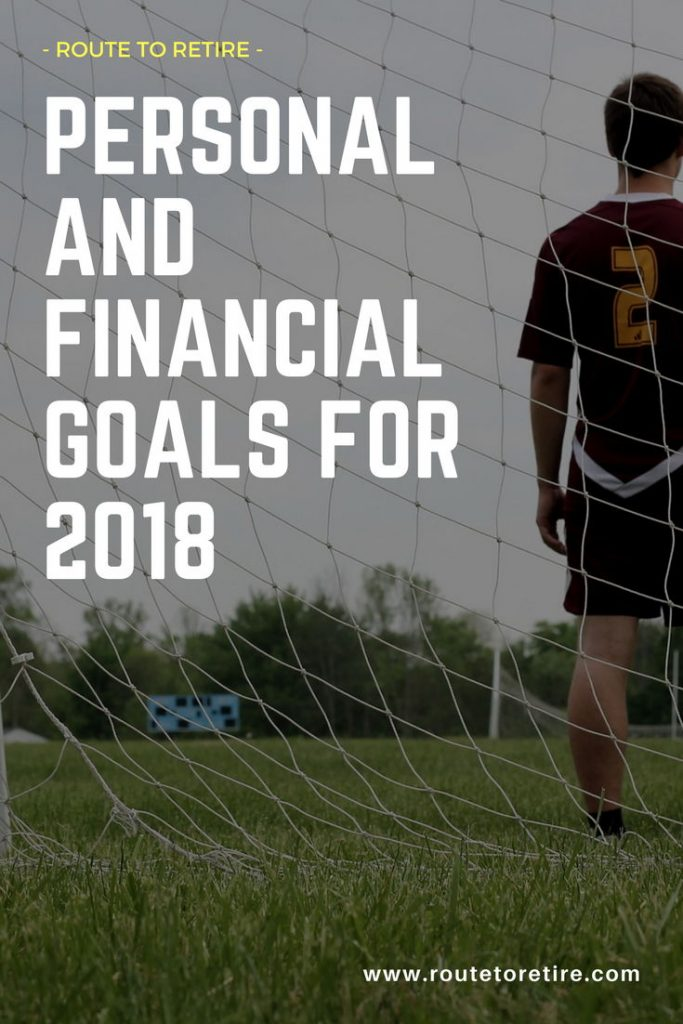 Personal and Financial Goals for 2018