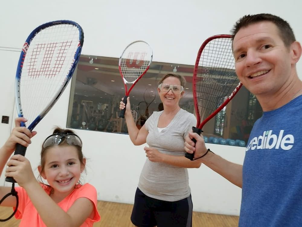 5 Things I Wish We Were Doing Again in Panama - Playing Racquetball