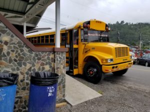 My Test Run of Medical Service in Panama Went Awry - School Bus to David