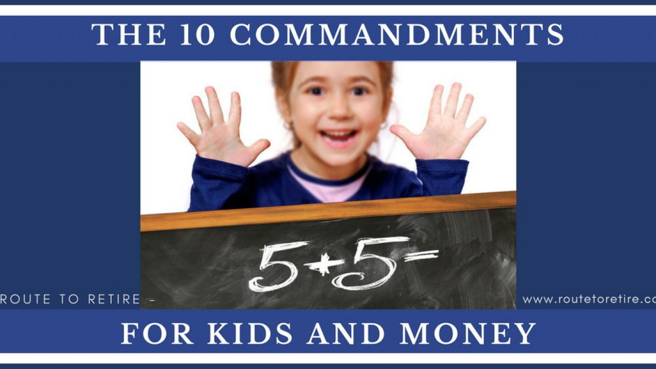 For kids commandments 10 What Are