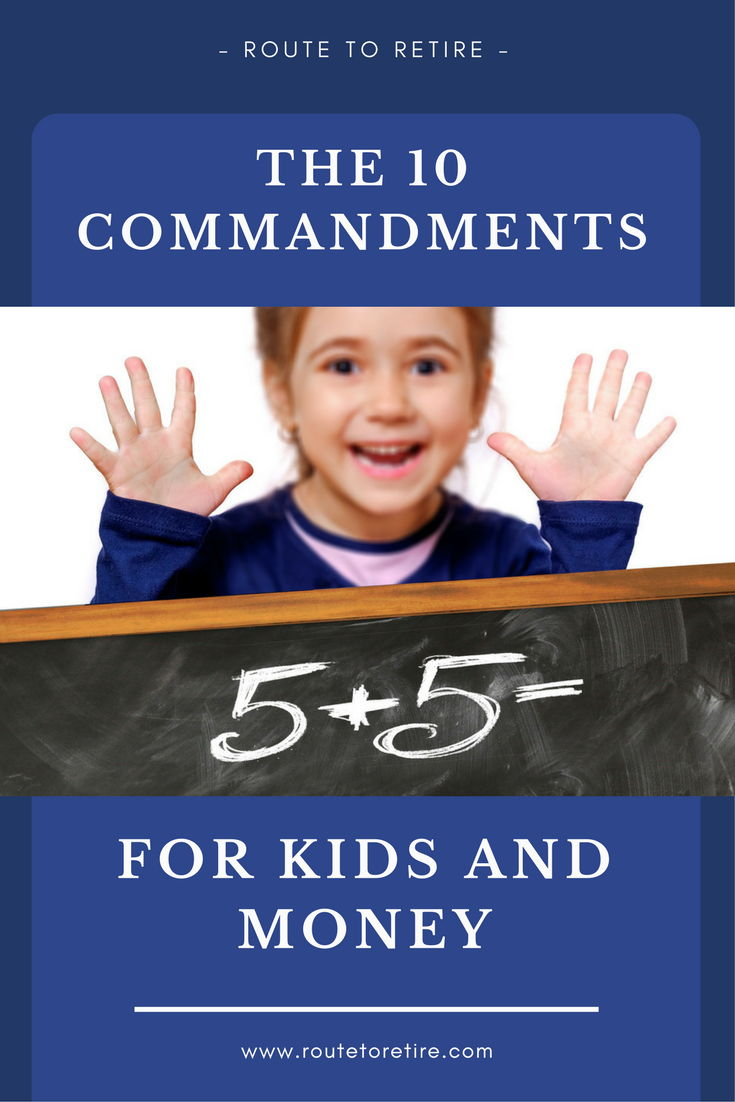 The 10 Commandments for Kids and Money