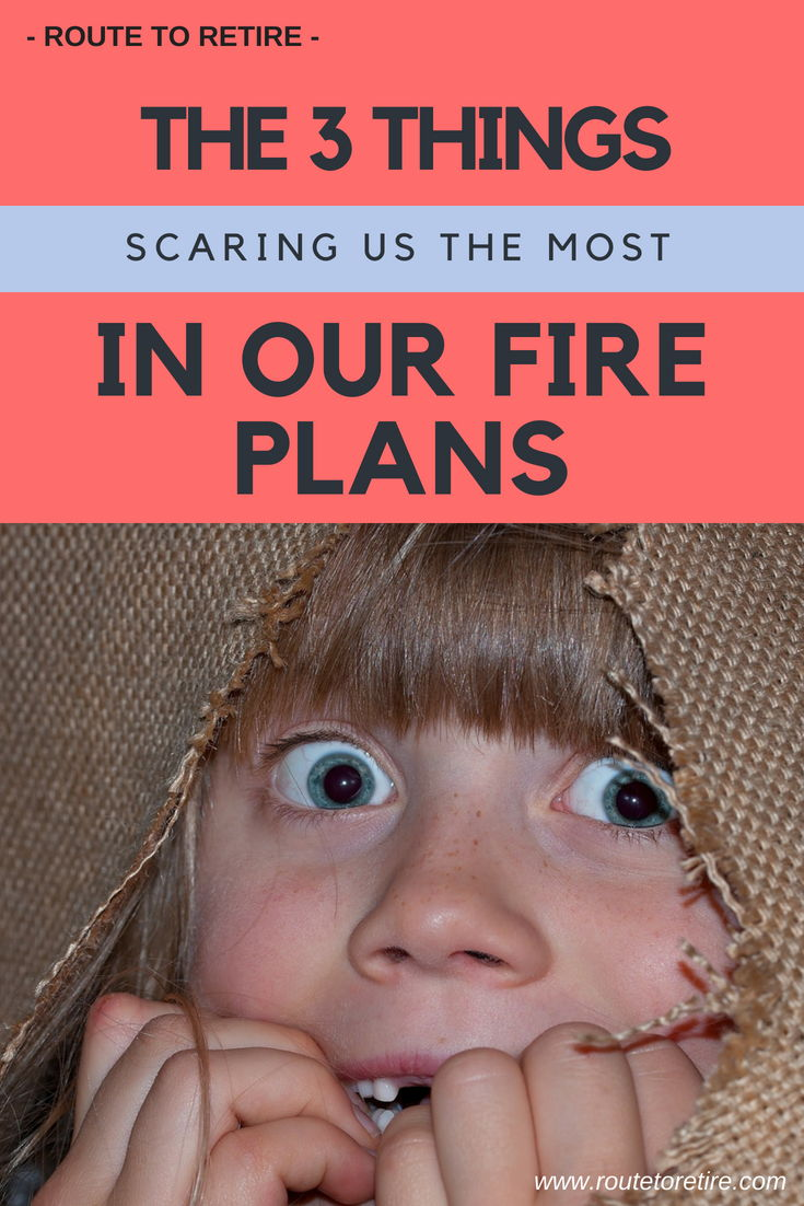 The 3 Things Scaring Us the Most in Our FIRE Plans