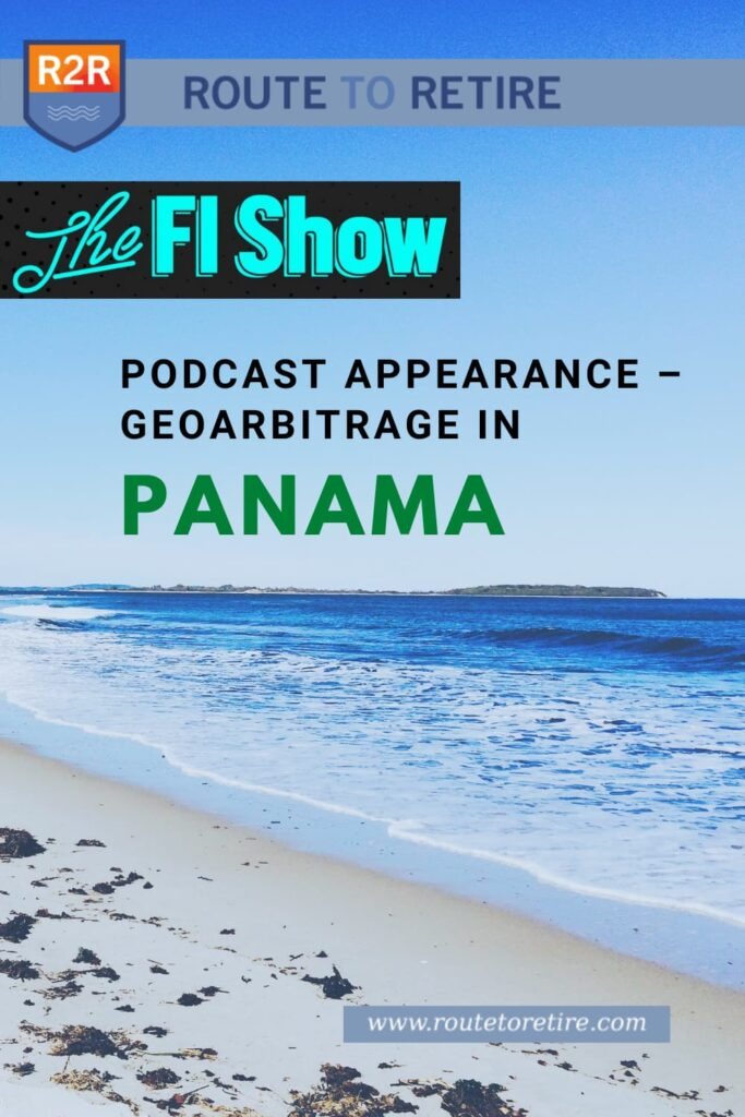 The FI Show Podcast Appearance – Geoarbitrage