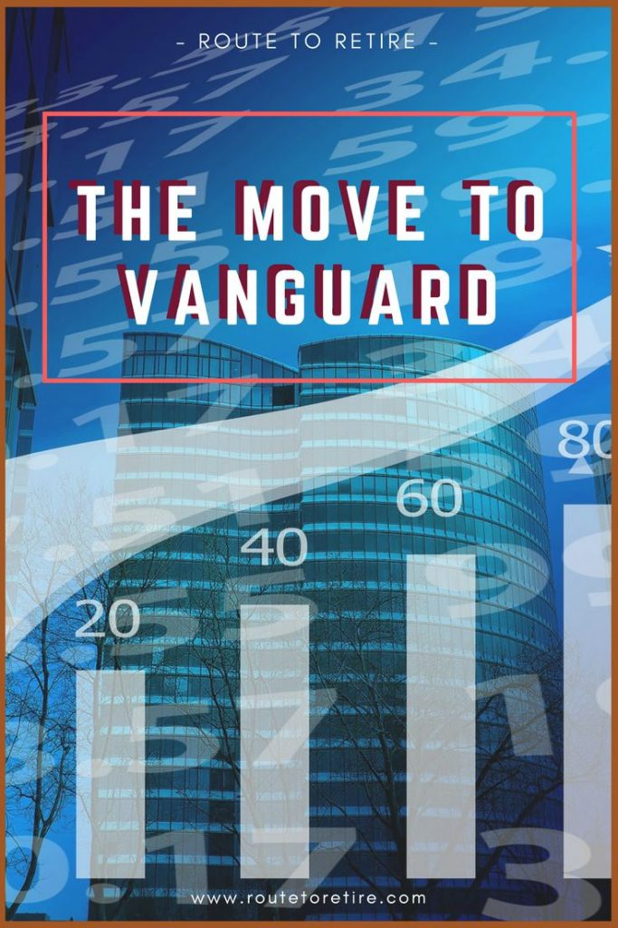 The Move to Vanguard... Bye, Bye TD Ameritrade!