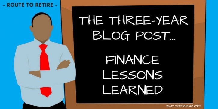 The Three-Year Blog Post... Finance Lessons Learned