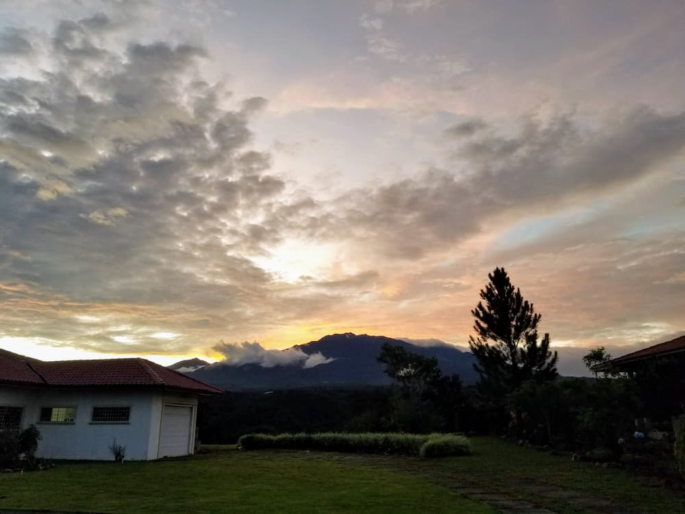 Giving Myself Permission To Breathe - View of the sunset over Volcan Baru
