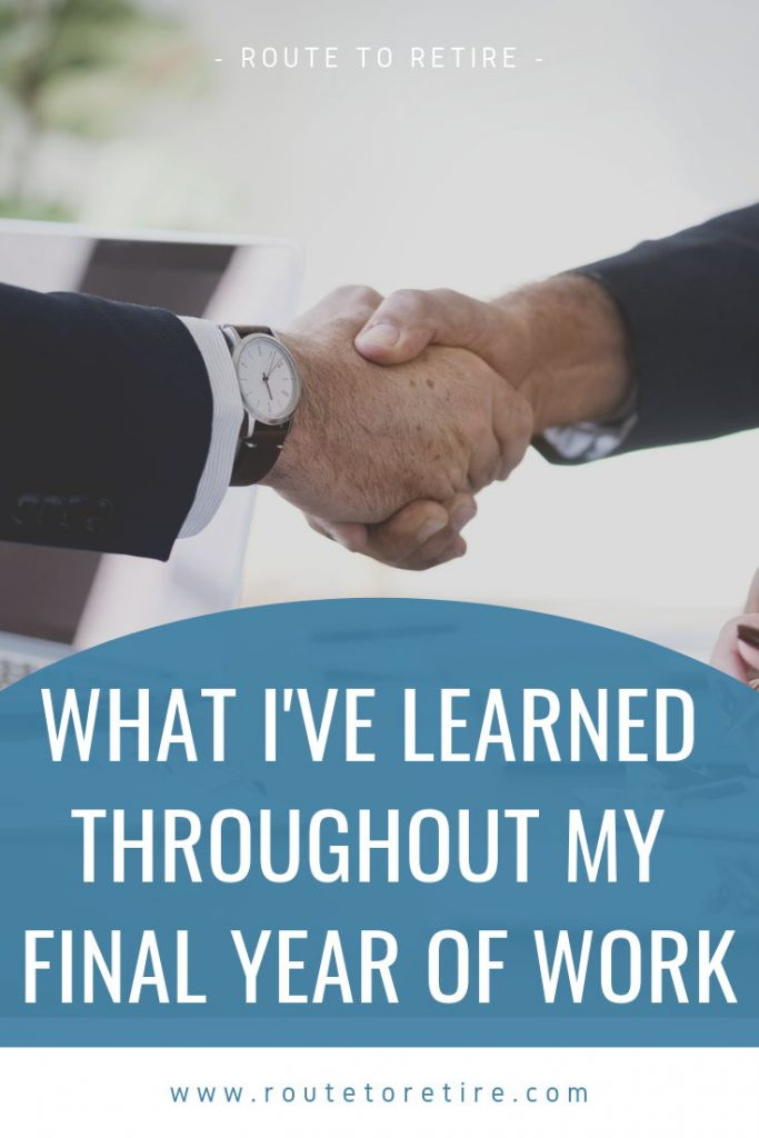 What I've Learned Throughout My Final Year of Work