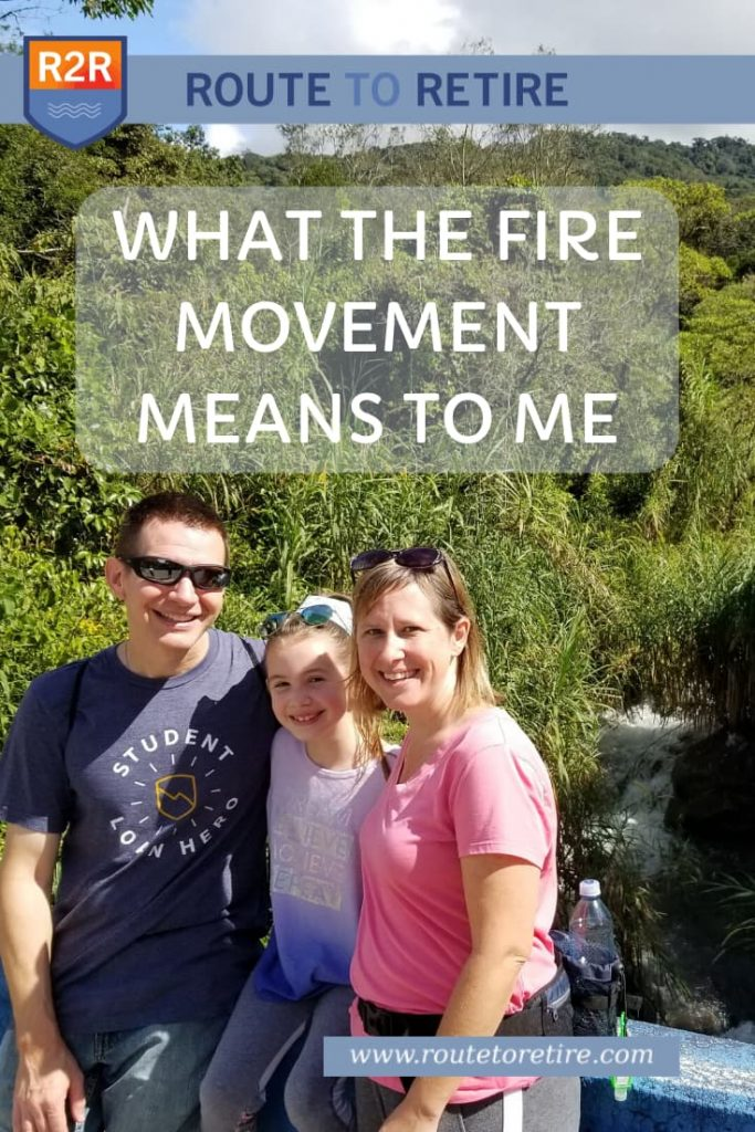 What the FIRE Movement Means to Me