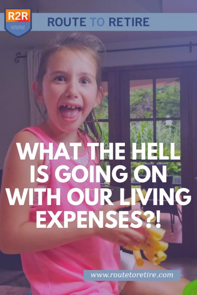What the Hell Is Going On with Our Living Expenses?!